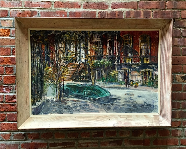 Product Details George Bossek Gramercy Park Painting Art Painting Art Anthonyrosamodern